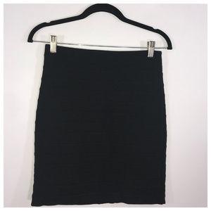 Express Black Bandage Style Mini Skirt Size 2